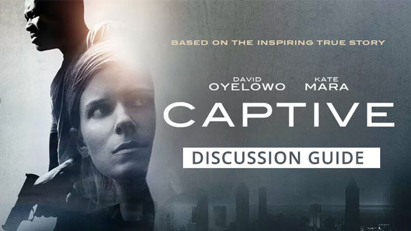 FREEBIE: Captive Movie Discussion Guide for Students