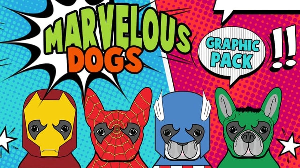 Marvelous Dogs Graphics image number null