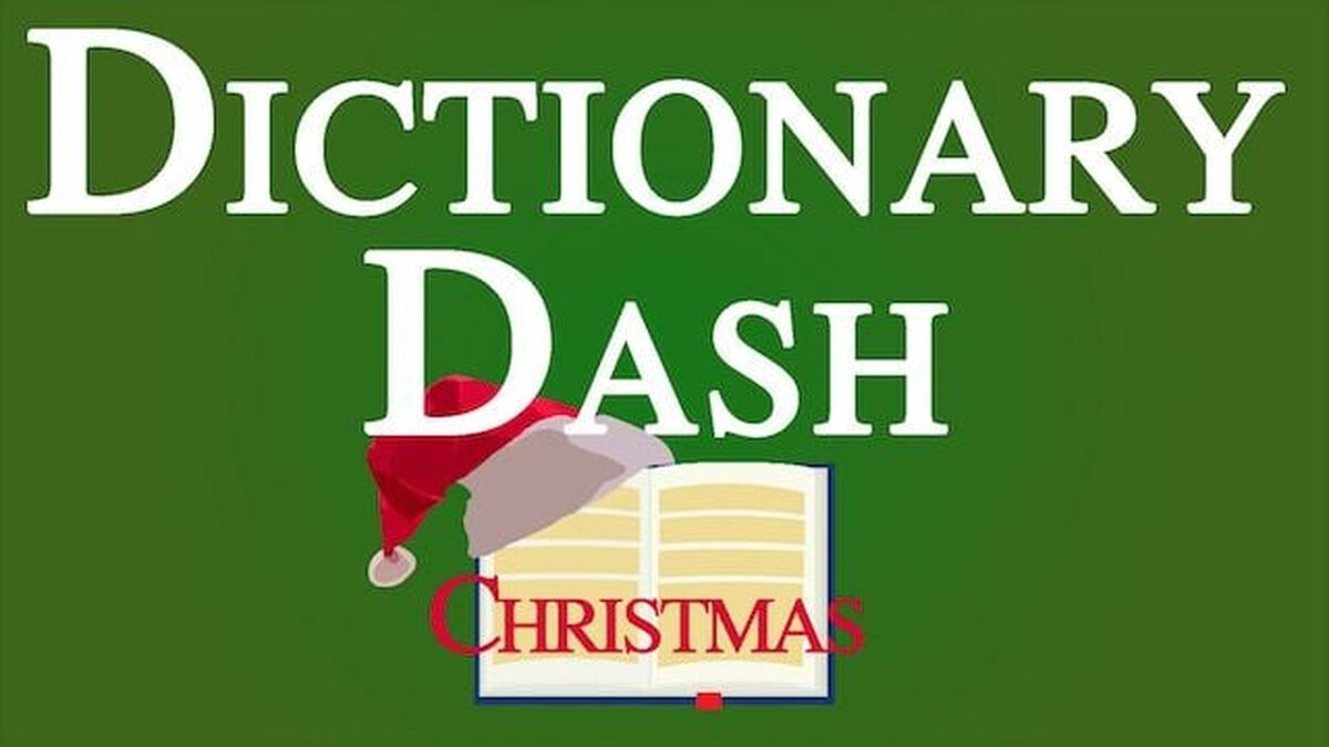 Dictionary Dash – Christmas Edition image number null