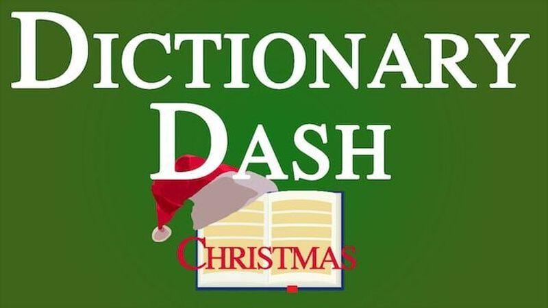 Dictionary Dash – Christmas Edition