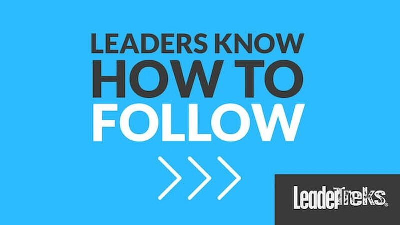 Student Leaders Know How to Follow