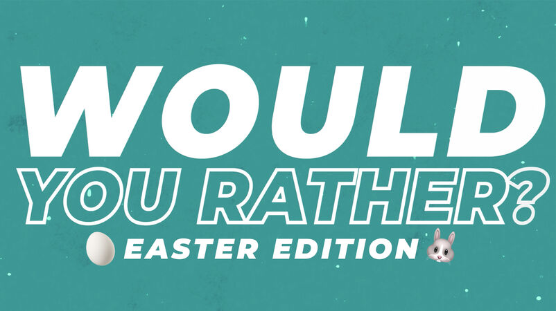 Would You Rather Countdown - Easter Emoji Edition