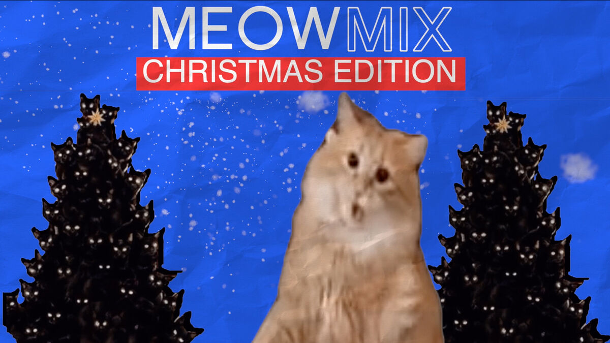 Meow Mix Christmas Edition image number null