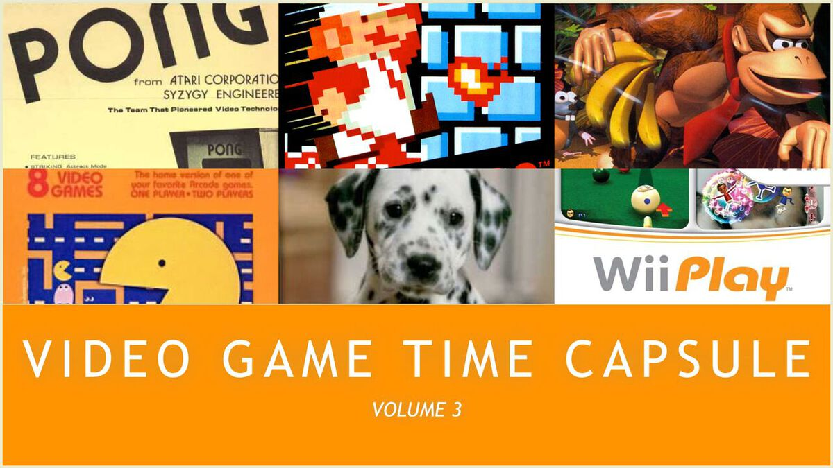 Video Game Time Capsule – Volume 3 image number null