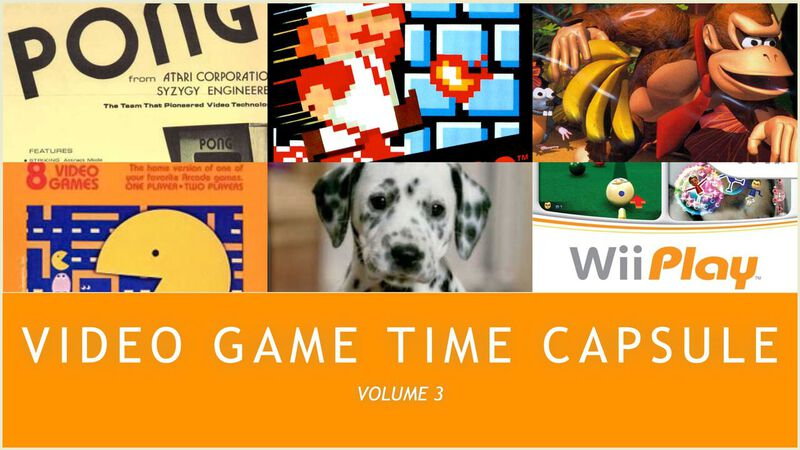 Video Game Time Capsule – Volume 3