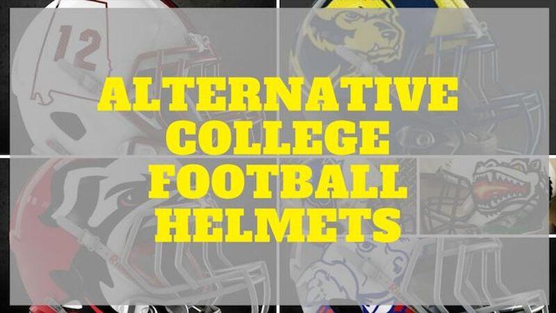 Alternative College Football Helmets