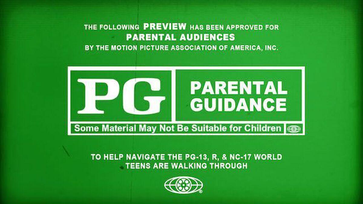 PG - Parental Guidance image number null