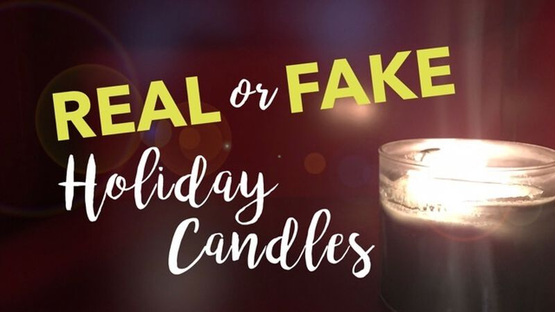 Holiday Candle Real or Fake