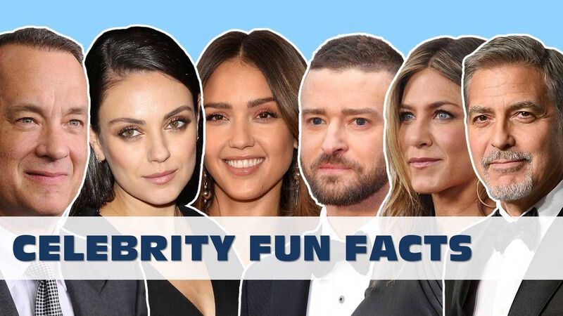 Celebrity Fun Facts