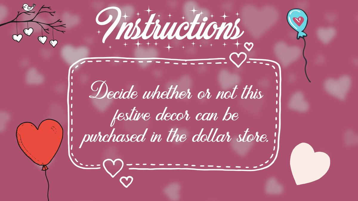 Dollar Store or So Much More? Valentine Edition image number null