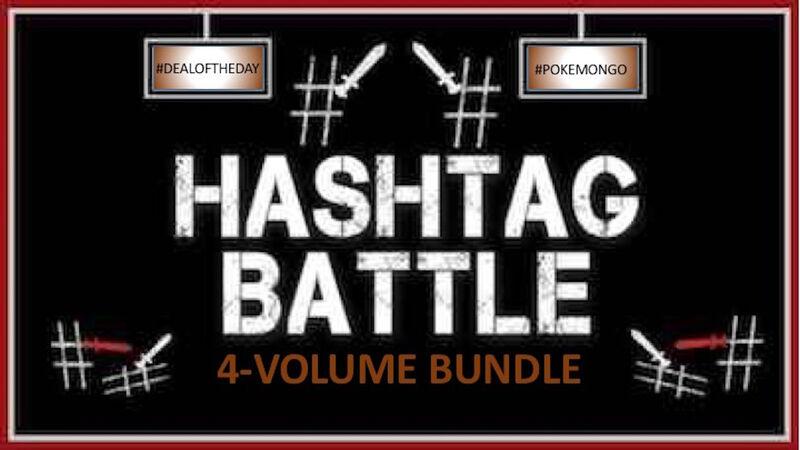 Hashtag Battle Game Bundle Vol 1-4