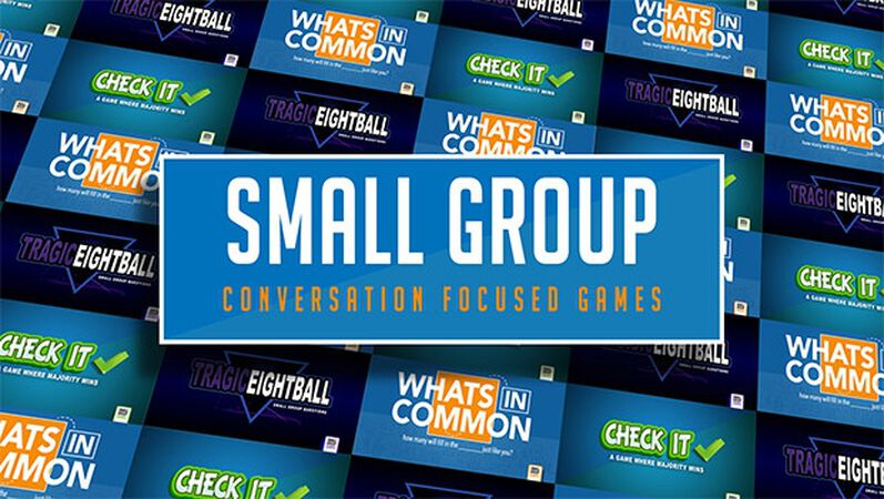 Small Group Conversation Based Games BUNDLE