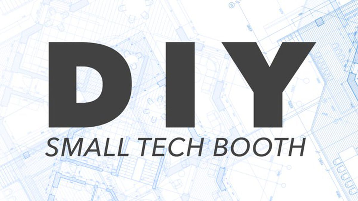 DIY: Small Rolling Tech Booth image number null
