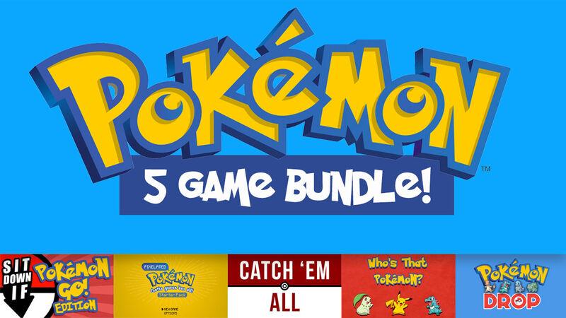 Pokemon 5-Game Bundle