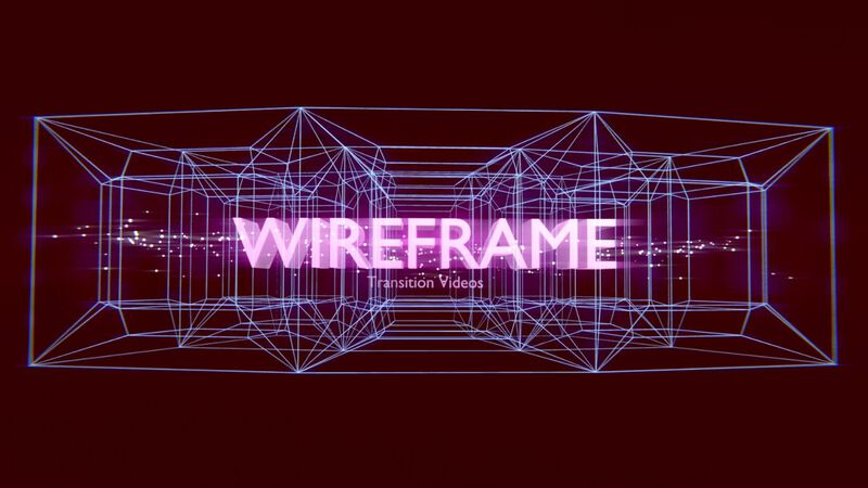 Wireframe Transition Video Pack