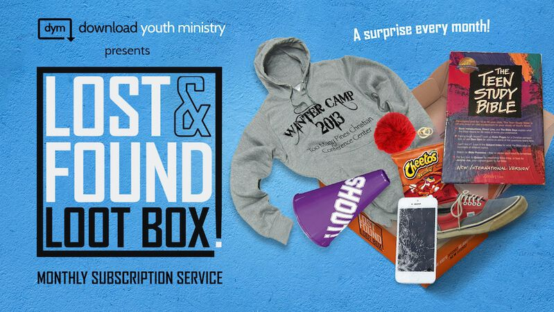 Youth Ministry Lost & Found Lootbox