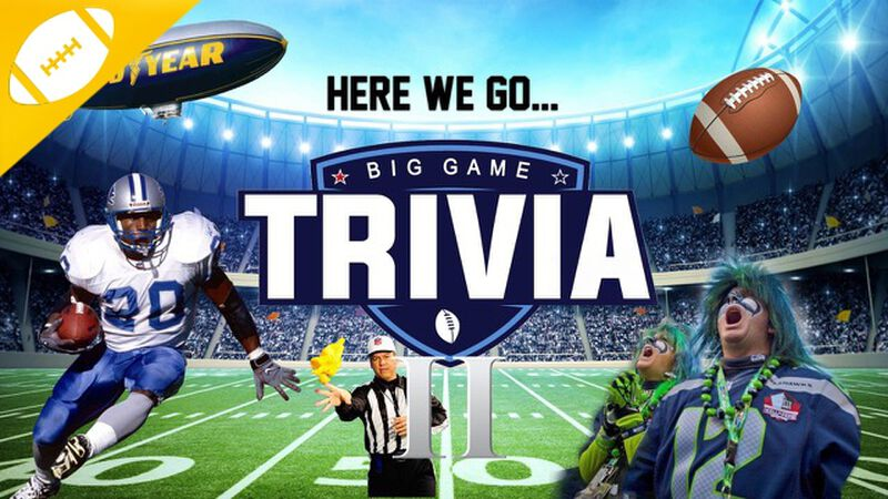 Big Game Trivia 2