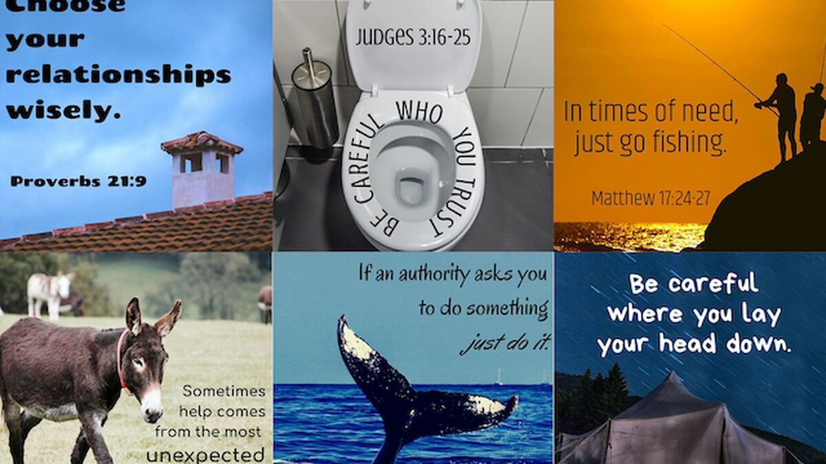 Life Advice from the Bible for Instagram image number null