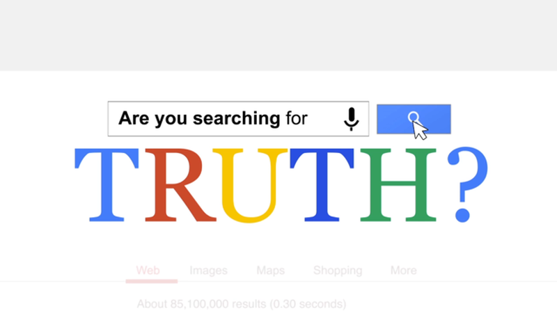 Searching for Truth Video