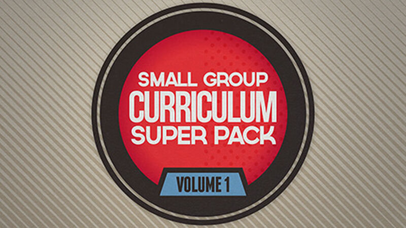 Small Group Curriculum Super Pack: Vol 1