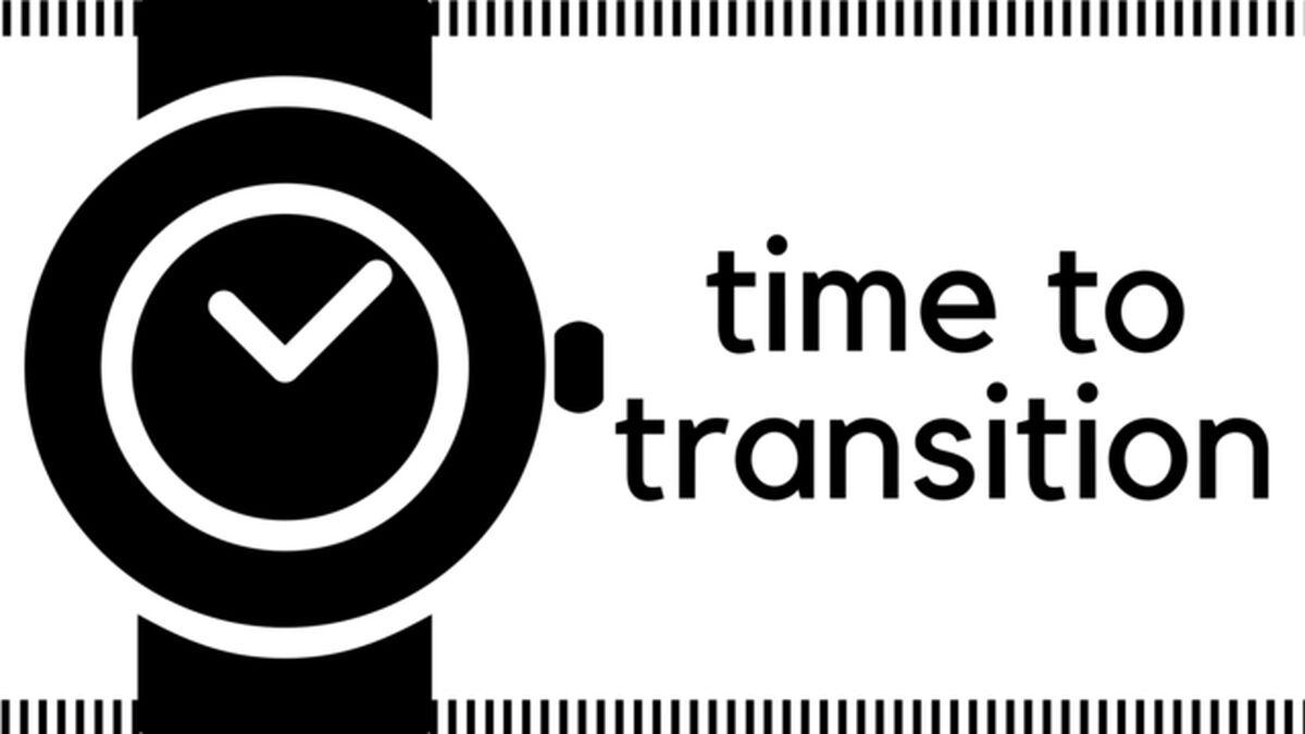 Time to Transition image number null
