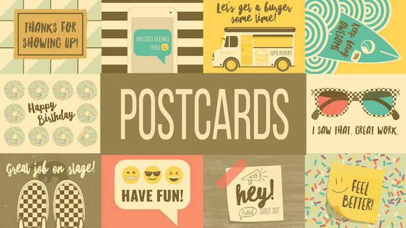 Student Ministry Postcards