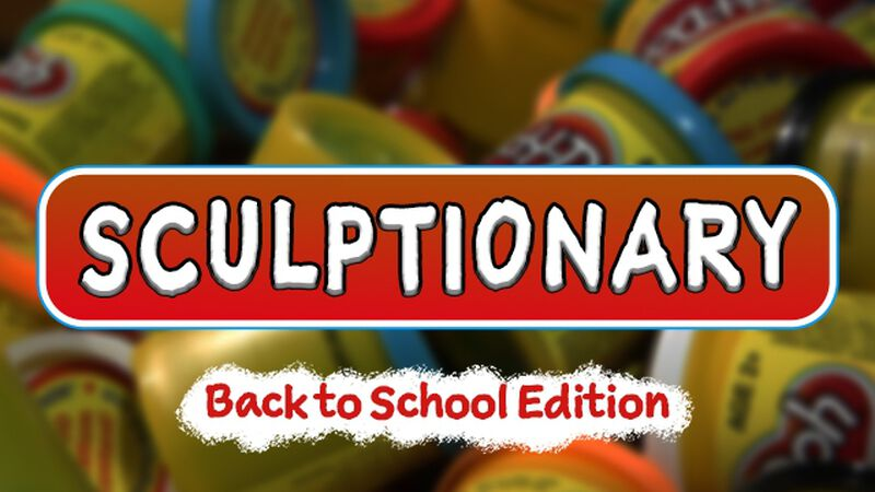 Sculptionary: Back to School Edition