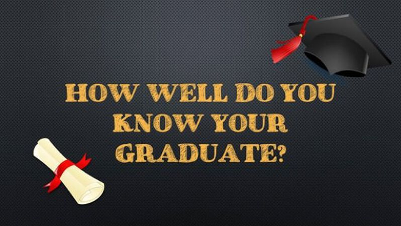 How Well Do You Know Your Graduate?