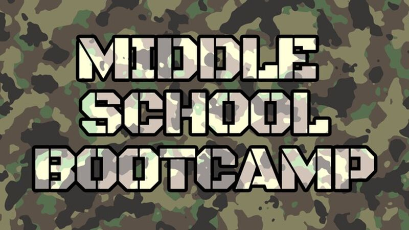 Middle School Bootcamp