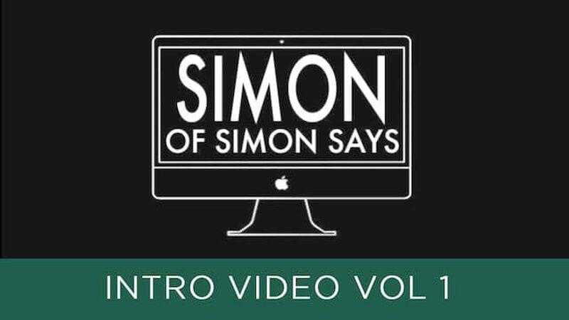 Simon Says Intro Video: Episode 1