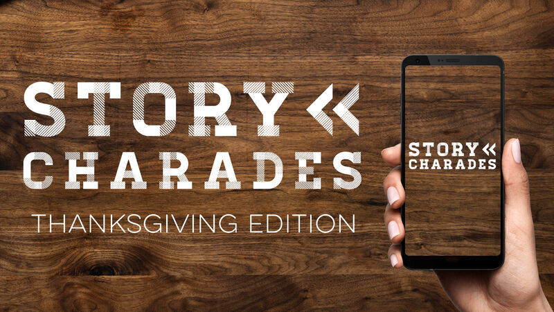 Story Charades Thanksgiving