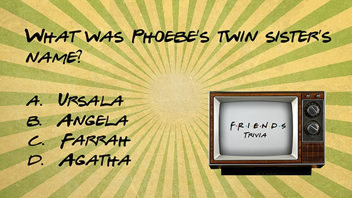 Friends Trivia image number null