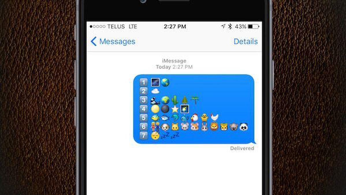 Old Test-Emoji 2 image number null