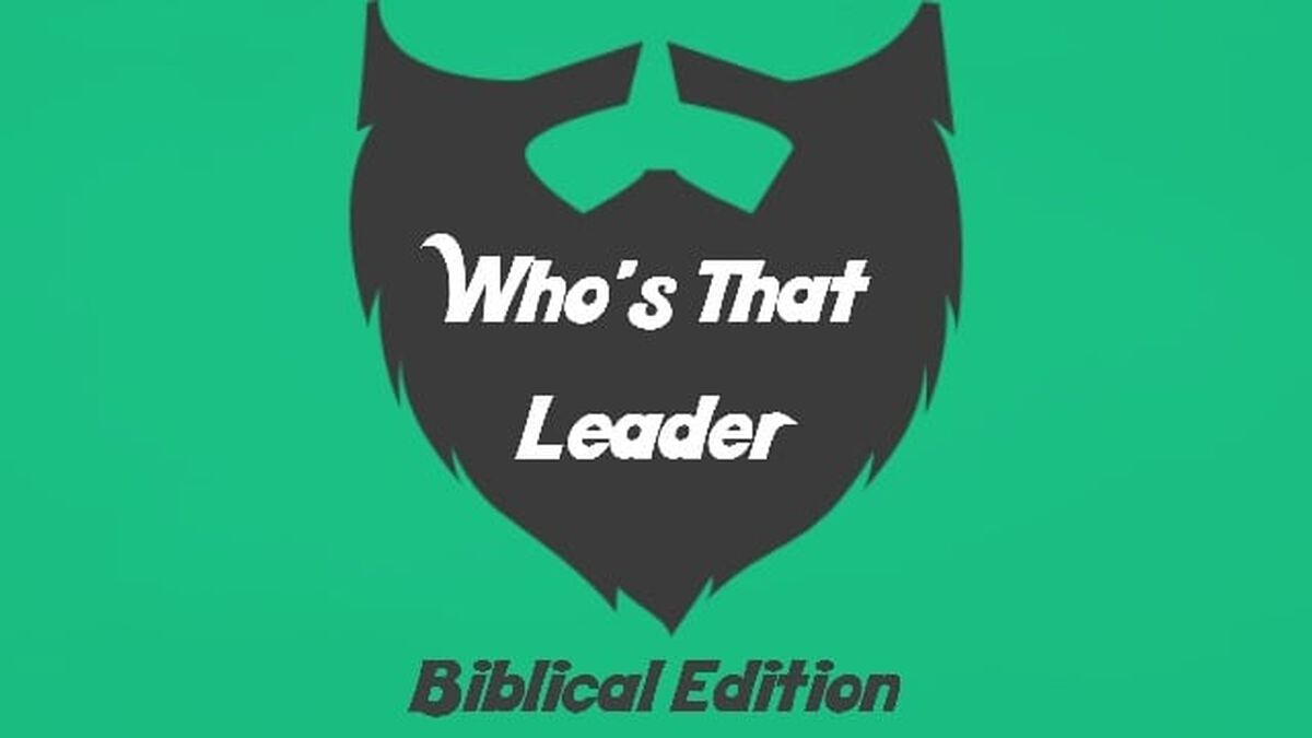 Who's That Leader Biblical Edition image number null