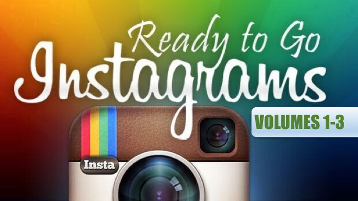 Ready to Go Instagrams Bundle image number null