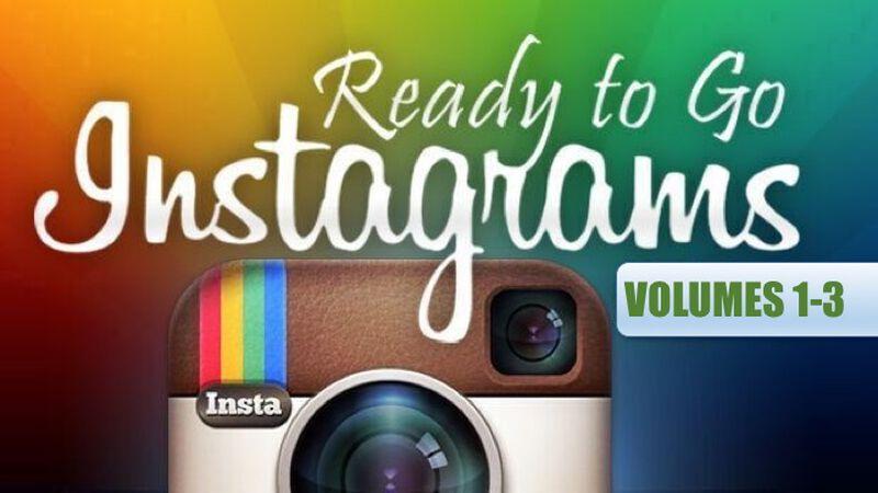 Ready to Go Instagrams Bundle