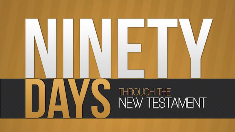 90 Days Through the New Testament Reproducible Workbook
