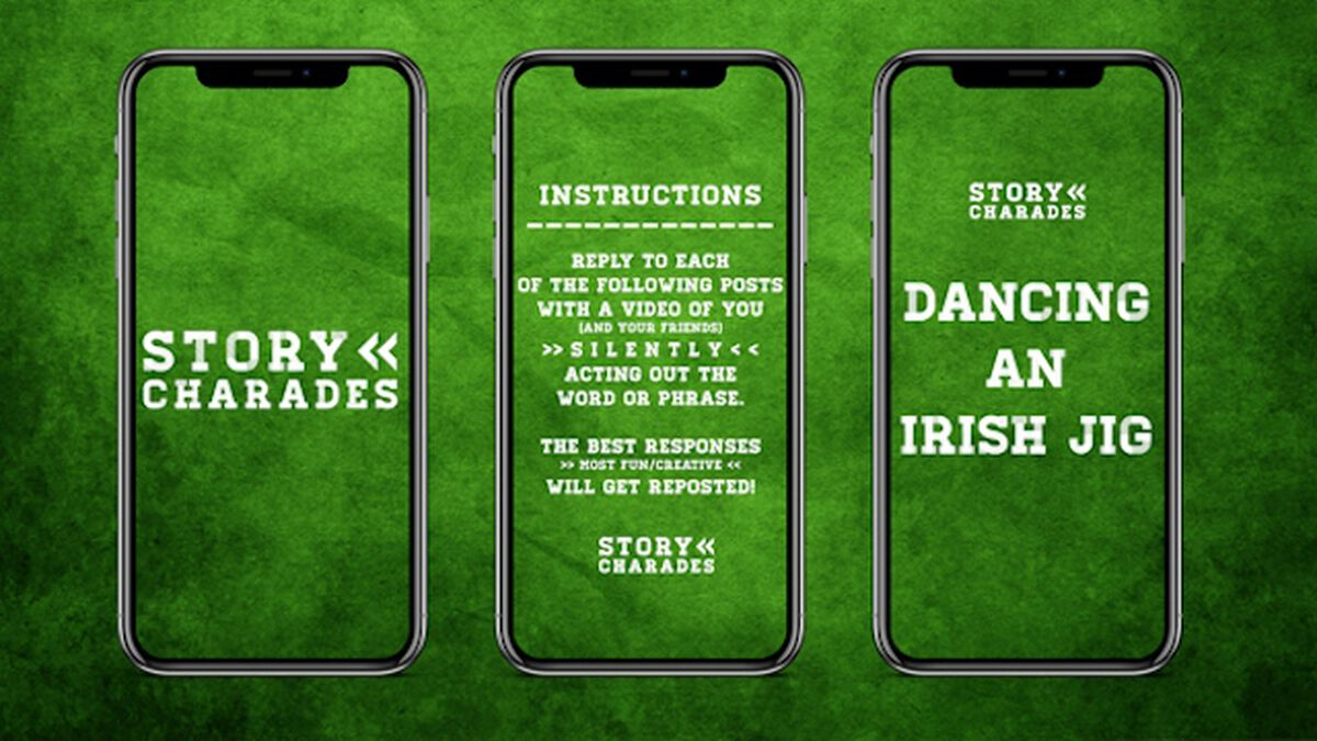 Story Charades St. Patrick's Day Edition image number null