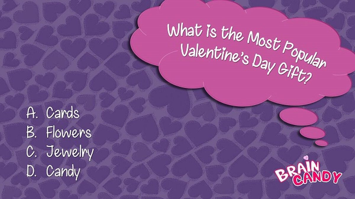 BRAIN CANDY: A Valentine's Day Trivia Game image number null