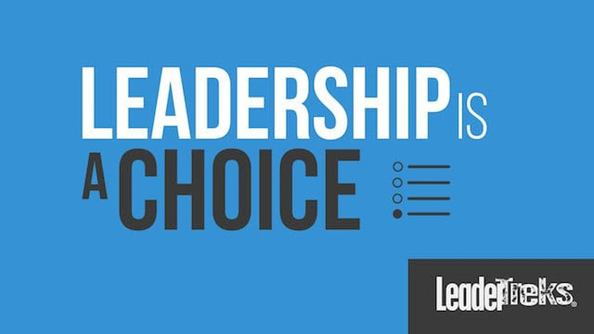 Student Leaders: Leadership Is A Choice image number null