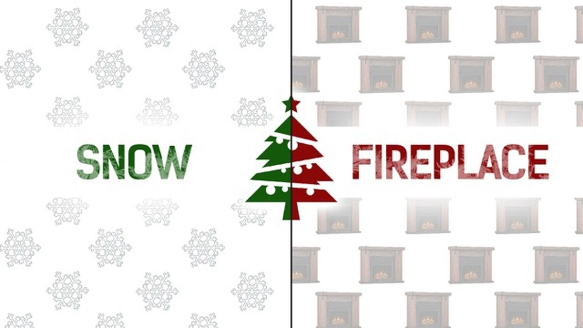 One To Stay, One To Go Away Christmas Edition image number null