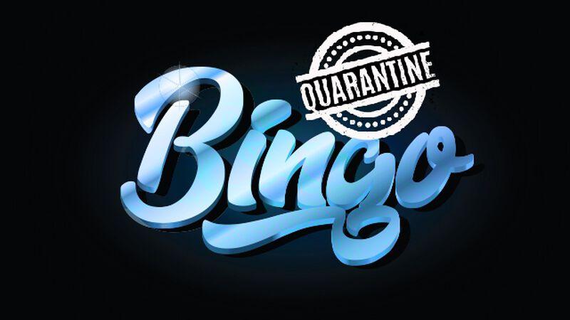 Quarantine Challenge Bingo