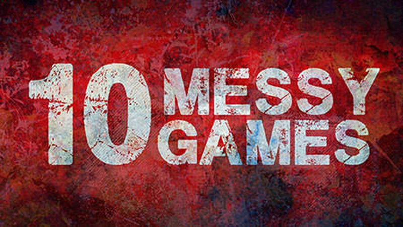 10 Messy Games