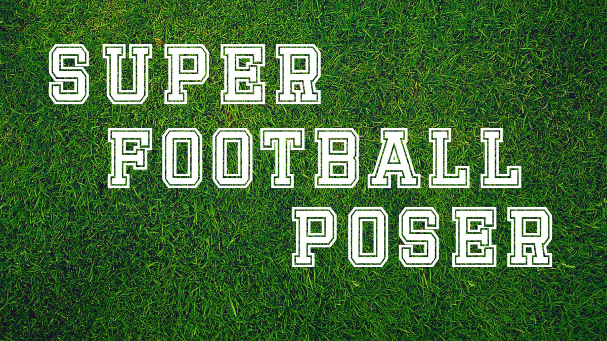 Super Football Poser image number null