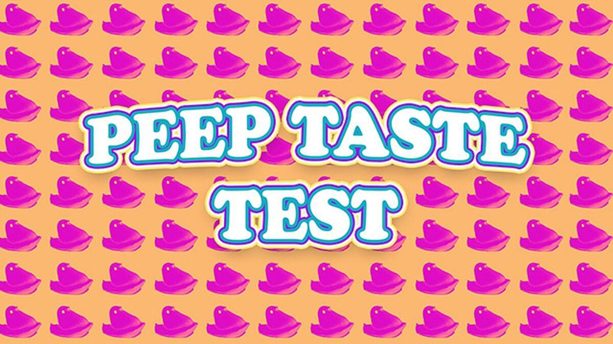 Peep Taste Test image number null