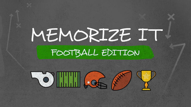 Memorize It: Football Edition