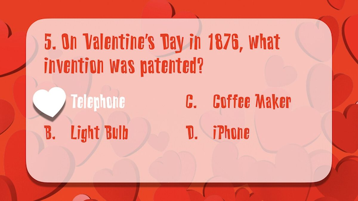 Valentine's Day Trivia image number null