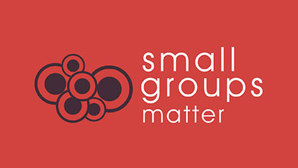 Small Groups That Matter image number null