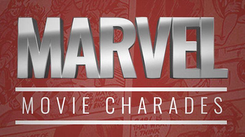 Marvel Movie Charades