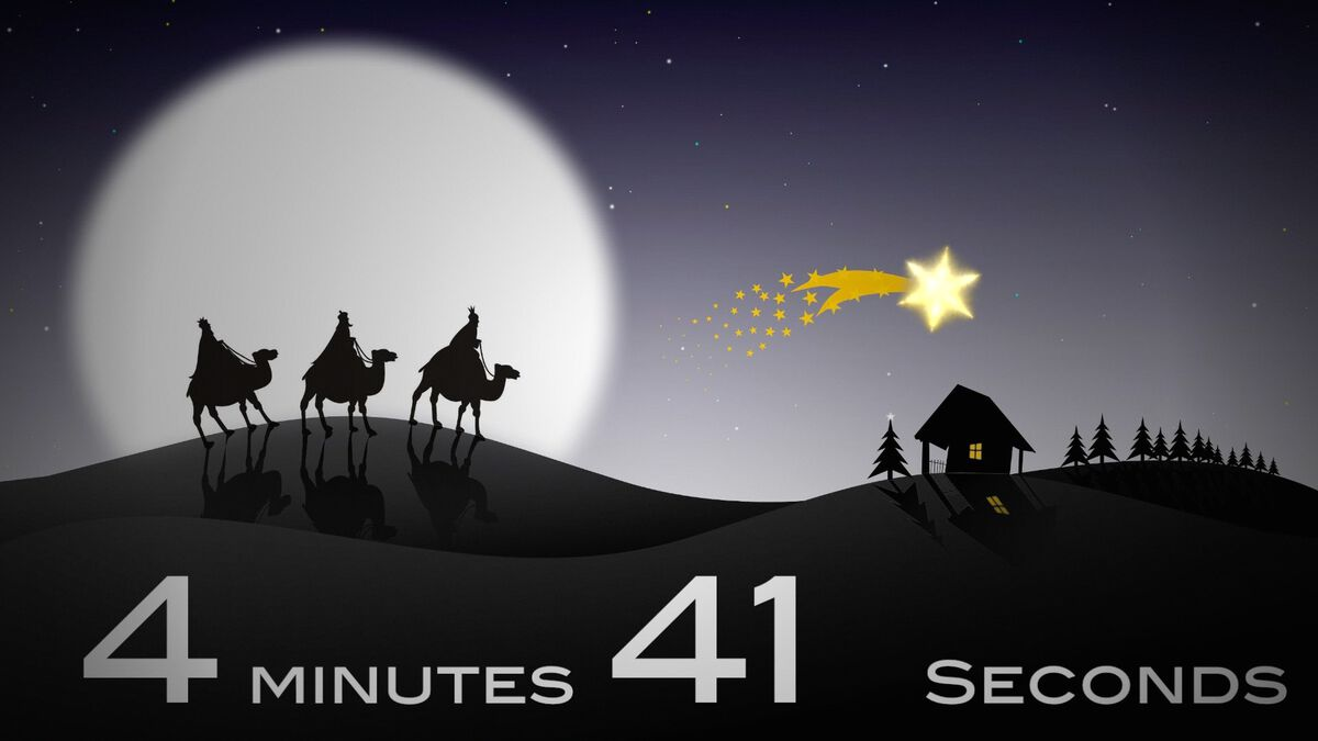 Christmas Magi Countdown image number null